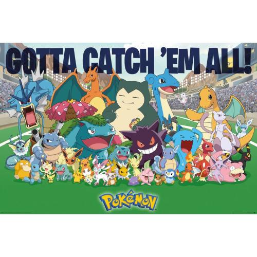 Fach 27 Pokémon Poster Favorites Gotta catch em all!