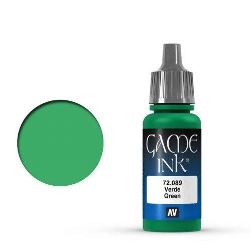 Game Ink Green