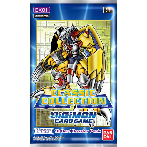 Digimon Card Game - Classic Collection EX-01 Booster