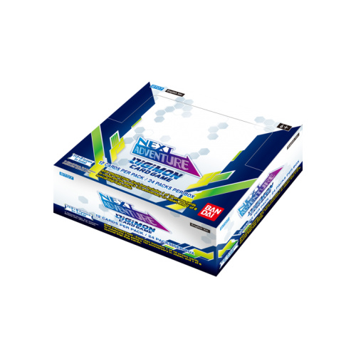 Digimon Card Game - Next Adventure Booster Display