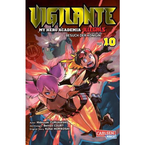 Vigilante - My Hero Academia Illegals 10