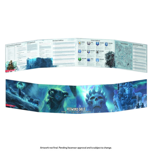 D&D Icewind Dale: Rime of the Frostmaiden - DM Screen
