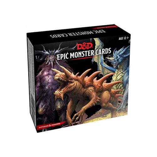 D&D Epic Montser Cards (77 Stück) Englisch