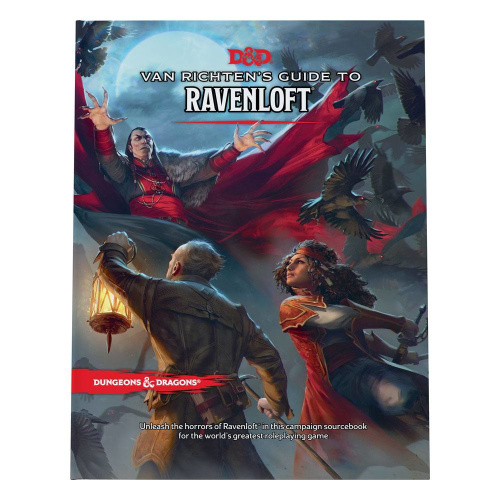 D&D Adventure Van Richtens Guide to Ravenloft englisch
