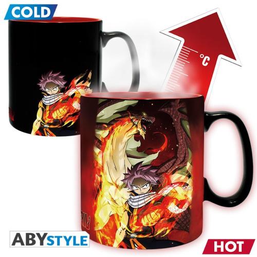 Fairy Tail Heat Change Tasse Natsu