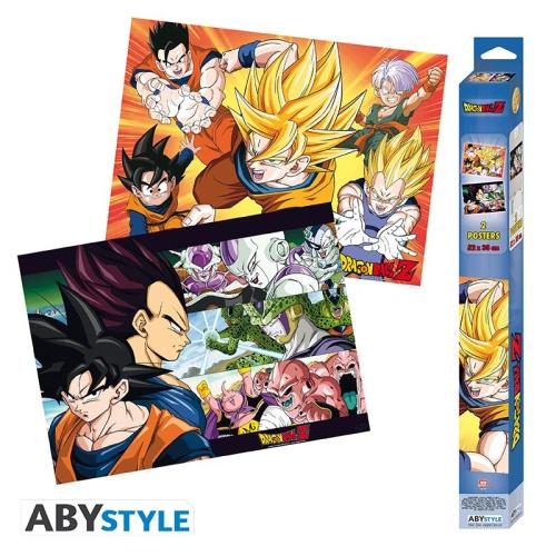 Dragon Ball Z Saiyans Posterset - 2 Poster
