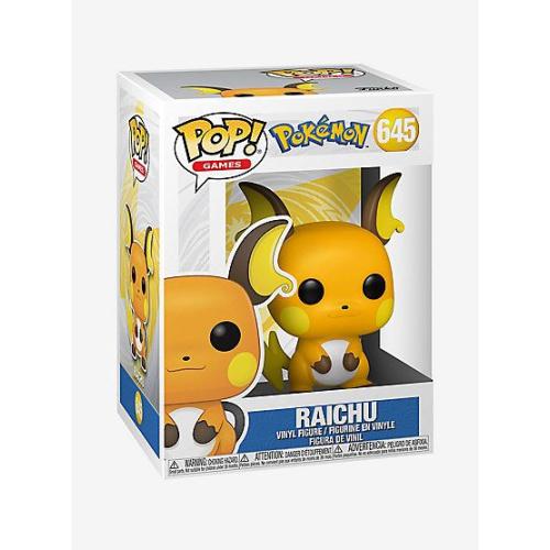 Pokémon Raichu (645) Funko Pop