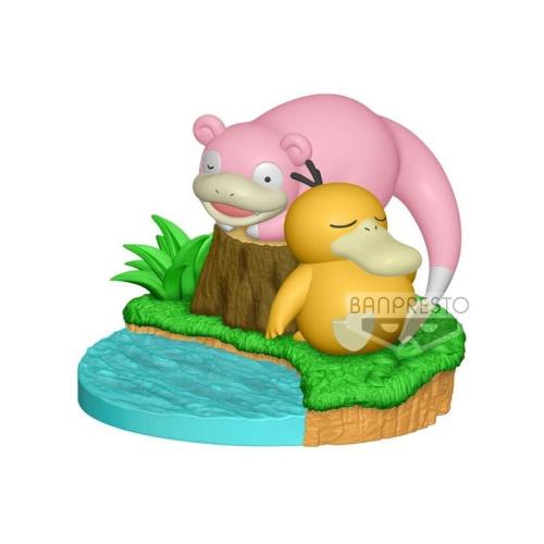 Pokémon - Enton und Lahmus Figur