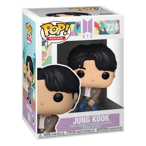 BTS POP! Rocks Vinyl Figur Jungkook Dynamite 9 cm
