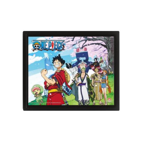 One Piece - Wano Kuni 3D Rahmenbild