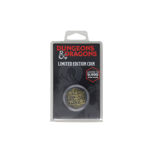 D&D Dungeons and Dragon Limited Collection Coin