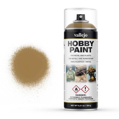 Vallejo Hobby Paint Spray Desert Yellow (400ml.)
