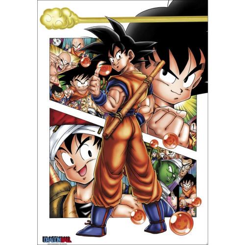 Poster - Fach 38: Dragon Ball Poster Son Goku Story
