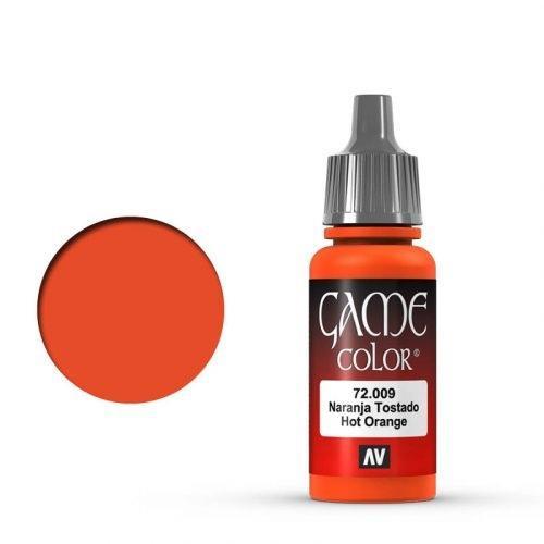 Game Color Hot Orange