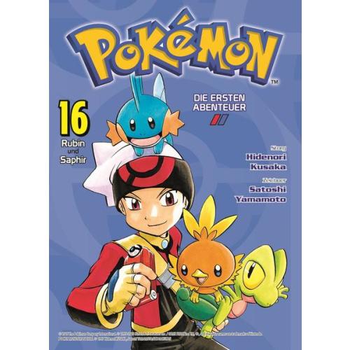 Pokémon - Die ersten Abenteuer - Bd. 16: Rubin und...