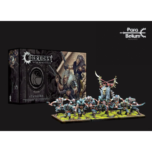 Conquest: Miniaturen 12er-Pack Nords: Stalkers