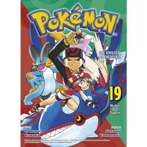 Pokémon - Die ersten Abenteuer - Bd. 19: Rubin und...