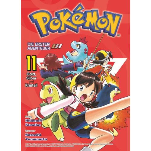 Pokémon - Die ersten Abenteuer - Bd. 11: Gold,...