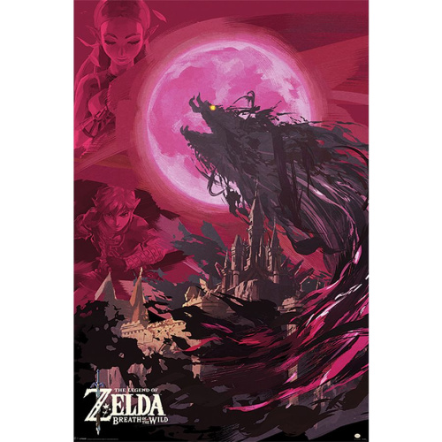 Poster - Fach 27: The Legend of Zelda Poster Breath Of...