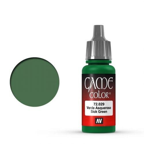 Game Color Sick Green