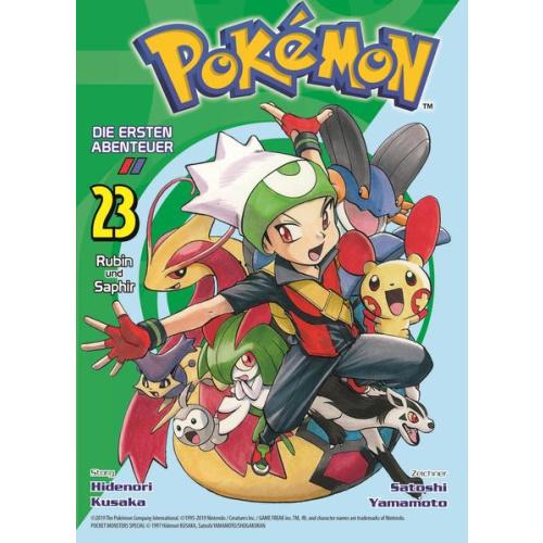 Pokémon - Die ersten Abenteuer - Bd. 23: Rubin und...