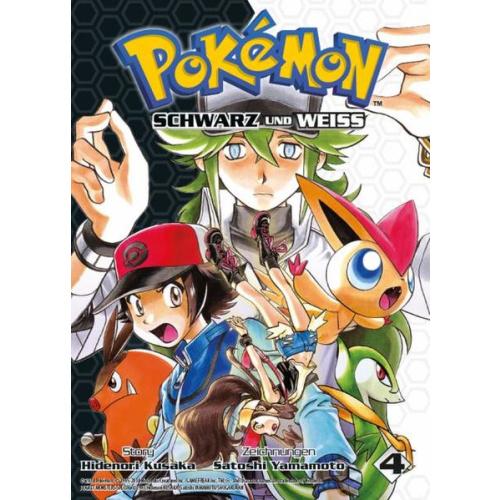Pokémon Schwarz und Weiss - Bd. 4