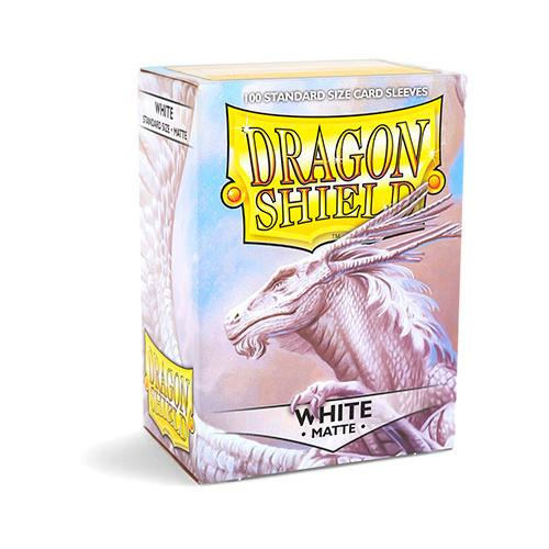 Dragon Shield Matte 100 Standard Hüllen WHITE
