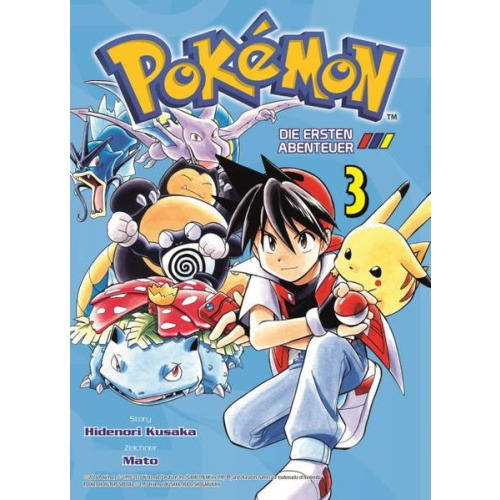 Pokémon - Die ersten Abenteuer - Bd. 3