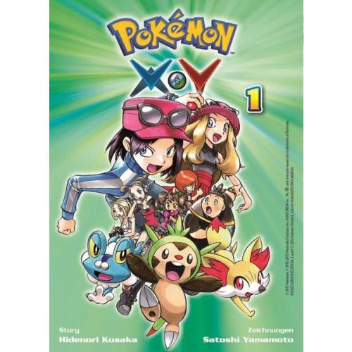 Pokémon X und Y - Bd. 1