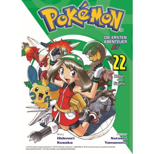 Pokémon - Die ersten Abenteuer - Bd. 22: Rubin und...