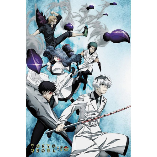 Poster - Fach 9: Tokyo Ghoul: re Poster Key Art 2