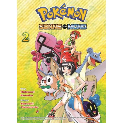 Pokémon - Sonne und Mond - Bd. 2
